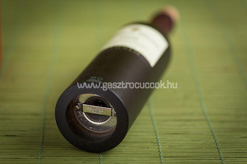 """""""Saint Emilion"""" sóőrlő - fekete-vörös bükk - 29cm, Peugeot®"""