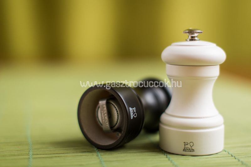 """""""Bistro"""" só- és borsőrlő szett, matt fekete-fehér, 10cm - Peugeot®"""