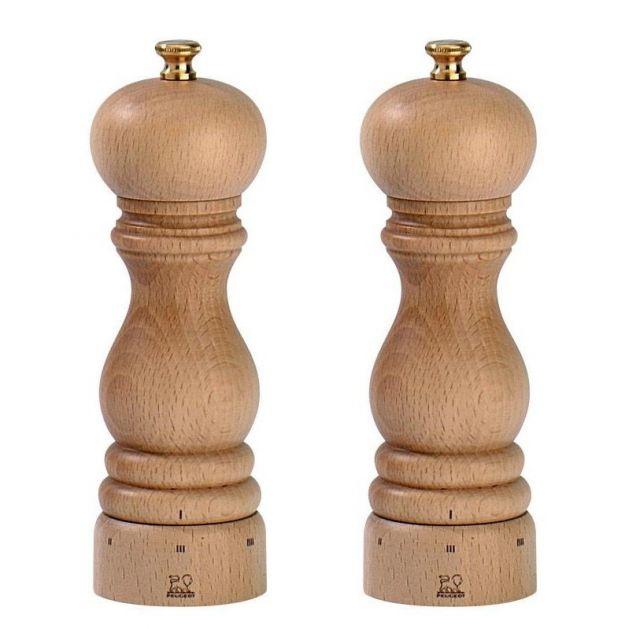 """""""Paris"""" u'Select® só- és borsőrlő SZETT - natúr, 18cm, Peugeot®"""