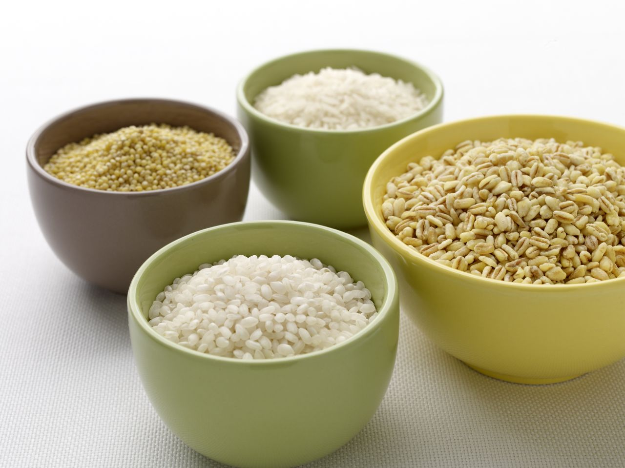 Lékué® mikrózható rizsfőző edény, zöld-fehér színben