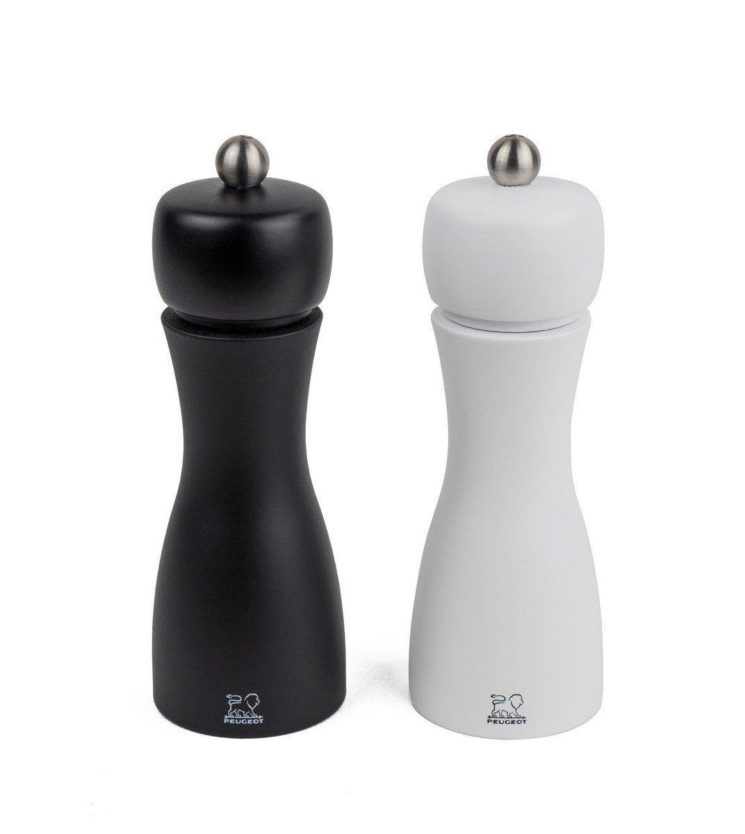 """""""Tahiti"""" só- és borsőrlő SZETT - (fekete és fehér) - 15cm, Peugeot®"""