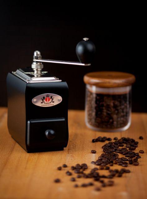 """""""Santiago"""" kávémalom, fekete bükk, ZASSENHAUS®"""