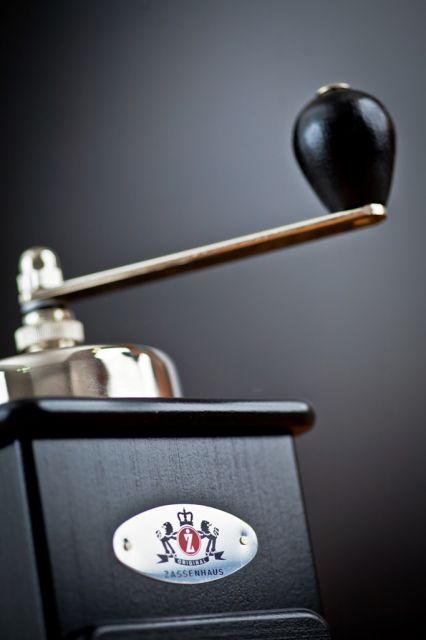 """Brasilia"" kávémalom, fekete, ZASSENHAUS®"