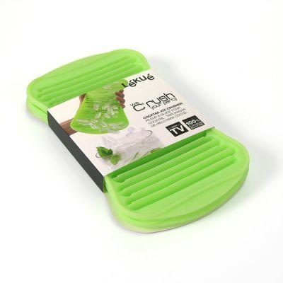 Lékué® C'rush koktéljég-készítő SZETT, szilikon, élénkzöld színben
