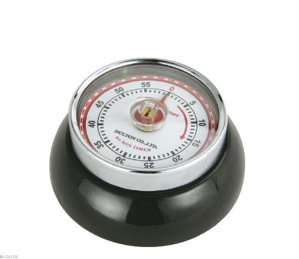 """""""Speed"""" konyhai timer, fekete színben, ZASSENHAUS®"""