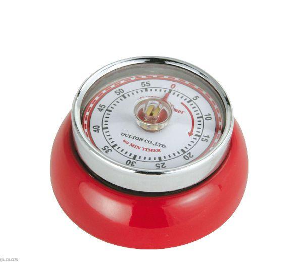 """Speed"" konyhai timer, piros színben, ZASSENHAUS®"