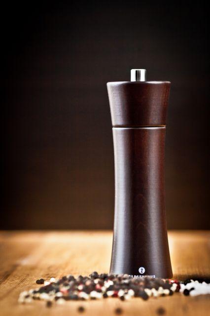 """""""Frankfurt"""" borsőrlő - pácolt wenge, 18cm, ZASSENHAUS®"""
