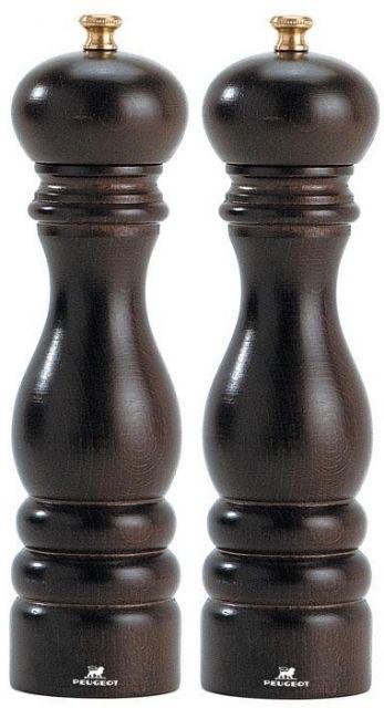 """""""Paris"""" u'Select® só- és borsőrlő SZETT - csokoládé-barna, 18cm, Peugeot®"""